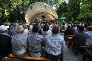 Alberto Amati zaśpiewa włoskie przeboje @ muszla w parku Kościuszki
