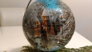 Ozdoby bożonarodzeniowe - warsztaty w DK Borki @ Dom Kultury Borki