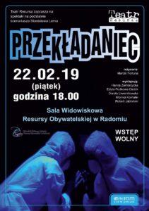 """Spektakl """"Przekładaniec"""" @ Resursa Obywatelska"""